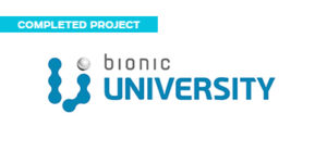 THE INTER-CORPORATE IT UNIVERSITY BIONIC UNIVERSITY